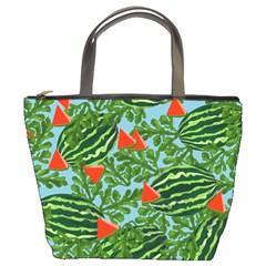 Juicy Watermelons Bucket Bags