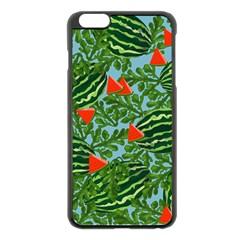 Juicy Watermelons Apple Iphone 6 Plus/6s Plus Black Enamel Case