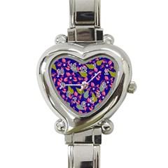 Bloom Heart Italian Charm Watch