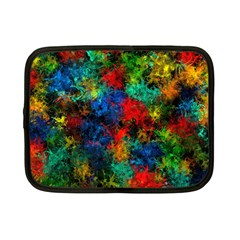 Squiggly Abstract A Netbook Case (small)
