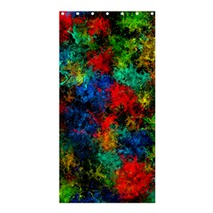 Squiggly Abstract A Shower Curtain 36  X 72  (stall)