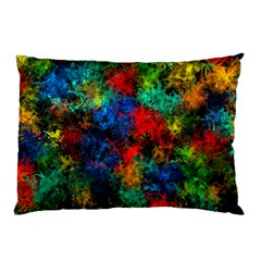 Squiggly Abstract A Pillow Case (two Sides)