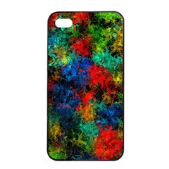 Squiggly Abstract A Apple Iphone 4/4s Seamless Case (black)