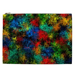 Squiggly Abstract A Cosmetic Bag (xxl)