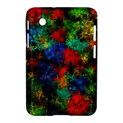 Squiggly Abstract A Samsung Galaxy Tab 2 (7 ) P3100 Hardshell Case