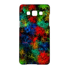 Squiggly Abstract A Samsung Galaxy A5 Hardshell Case