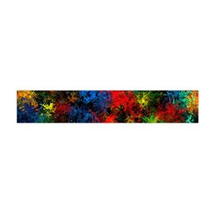 Squiggly Abstract A Flano Scarf (mini)