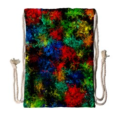 Squiggly Abstract A Drawstring Bag (large)