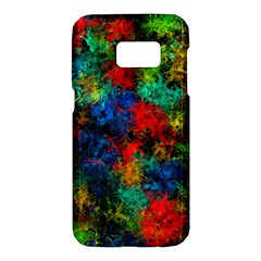 Squiggly Abstract A Samsung Galaxy S7 Hardshell Case