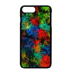 Squiggly Abstract A Apple Iphone 7 Plus Seamless Case (black)