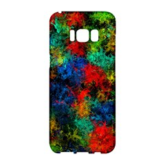 Squiggly Abstract A Samsung Galaxy S8 Hardshell Case