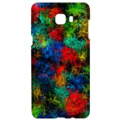 Squiggly Abstract A Samsung C9 Pro Hardshell Case