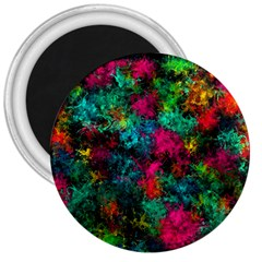 Squiggly Abstract B 3  Magnets