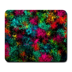 Squiggly Abstract B Large Mousepads
