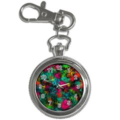 Squiggly Abstract B Key Chain Watches