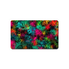 Squiggly Abstract B Magnet (name Card)