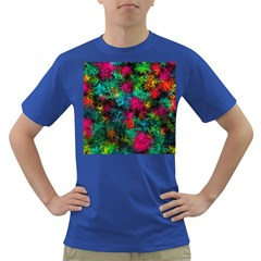 Squiggly Abstract B Dark T Shirt