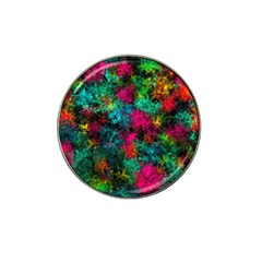 Squiggly Abstract B Hat Clip Ball Marker (10 Pack)