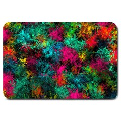 Squiggly Abstract B Large Doormat