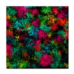 Squiggly Abstract B Face Towel