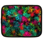 Squiggly Abstract B Netbook Case (XL)  Front