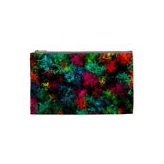 Squiggly Abstract B Cosmetic Bag (small)