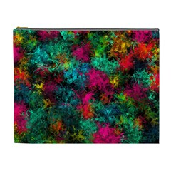 Squiggly Abstract B Cosmetic Bag (xl)