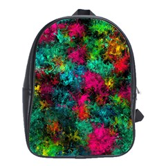Squiggly Abstract B School Bag (large)