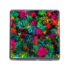 Squiggly Abstract B Memory Card Reader (square)