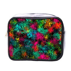 Squiggly Abstract B Mini Toiletries Bags