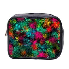 Squiggly Abstract B Mini Toiletries Bag 2 Side