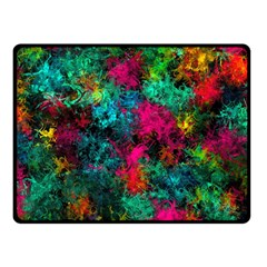 Squiggly Abstract B Fleece Blanket (small)