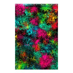 Squiggly Abstract B Shower Curtain 48  X 72  (small)