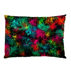 Squiggly Abstract B Pillow Case (two Sides)