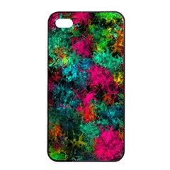 Squiggly Abstract B Apple Iphone 4/4s Seamless Case (black)