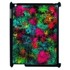 Squiggly Abstract B Apple Ipad 2 Case (black)