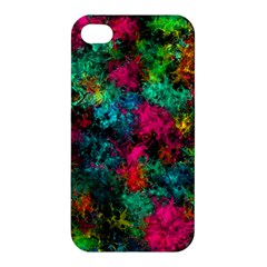 Squiggly Abstract B Apple Iphone 4/4s Hardshell Case