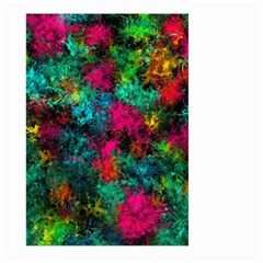 Squiggly Abstract B Large Garden Flag (two Sides)