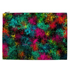 Squiggly Abstract B Cosmetic Bag (xxl)