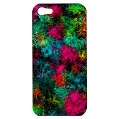 Squiggly Abstract B Apple Iphone 5 Hardshell Case