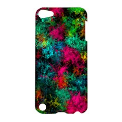 Squiggly Abstract B Apple Ipod Touch 5 Hardshell Case