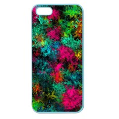Squiggly Abstract B Apple Seamless Iphone 5 Case (color)