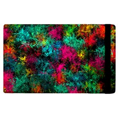 Squiggly Abstract B Apple Ipad 2 Flip Case
