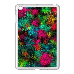 Squiggly Abstract B Apple Ipad Mini Case (white)