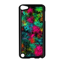 Squiggly Abstract B Apple Ipod Touch 5 Case (black)