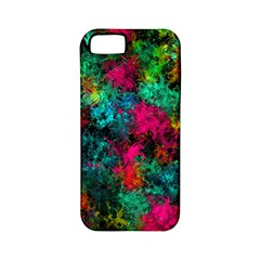 Squiggly Abstract B Apple Iphone 5 Classic Hardshell Case (pc+silicone)