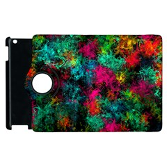 Squiggly Abstract B Apple Ipad 2 Flip 360 Case
