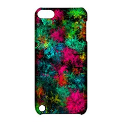 Squiggly Abstract B Apple Ipod Touch 5 Hardshell Case With Stand
