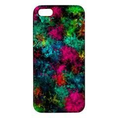 Squiggly Abstract B Apple Iphone 5 Premium Hardshell Case