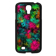 Squiggly Abstract B Samsung Galaxy S4 I9500/ I9505 Case (black)